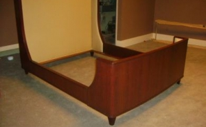Contemporary Sleigh Bed