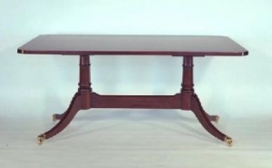 Two Pedestal Meeting Table