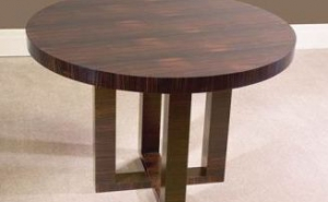 Maccassar Ebony Games Table