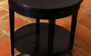 Transitional Lamp Table