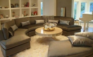 Curved Custom Sectional