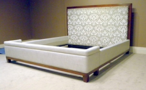 Walnut King Size Bed