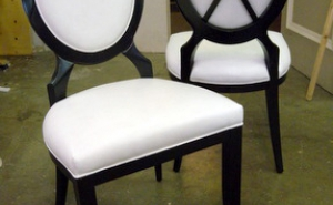 Oval back dining chairs