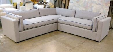 tuxedo style sectional sofa creative custom furnishings rh creativecustomfurnishings com Bench Seat Sectional Sofa Seat Sofa Two Sectional Cushiontuxedo