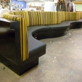 Banquette's custom built to client specification
