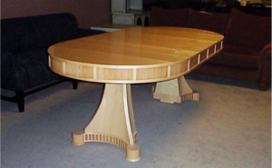 Oval dining table Custom Design