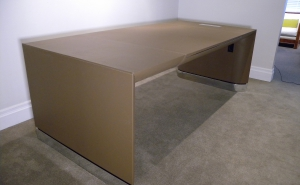 Leather Desk created for Rodney Deeprose