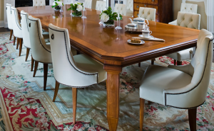 Dining Table created for Taylor Hannah Architect